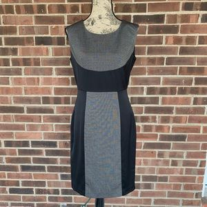 NWOT Worthington color block career dress